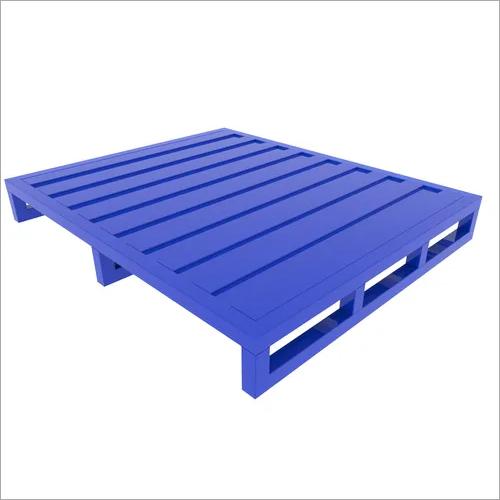 Single Deck Steel Pallet