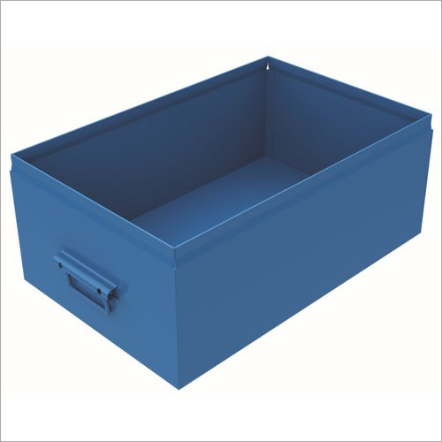 Rectangular Metal Bin