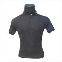 Polo Neck Plain T Shirt