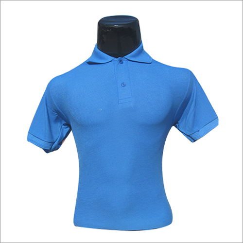 Polo Neck Half Sleeves T Shirt
