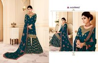 Heavy Work Sharara Suits