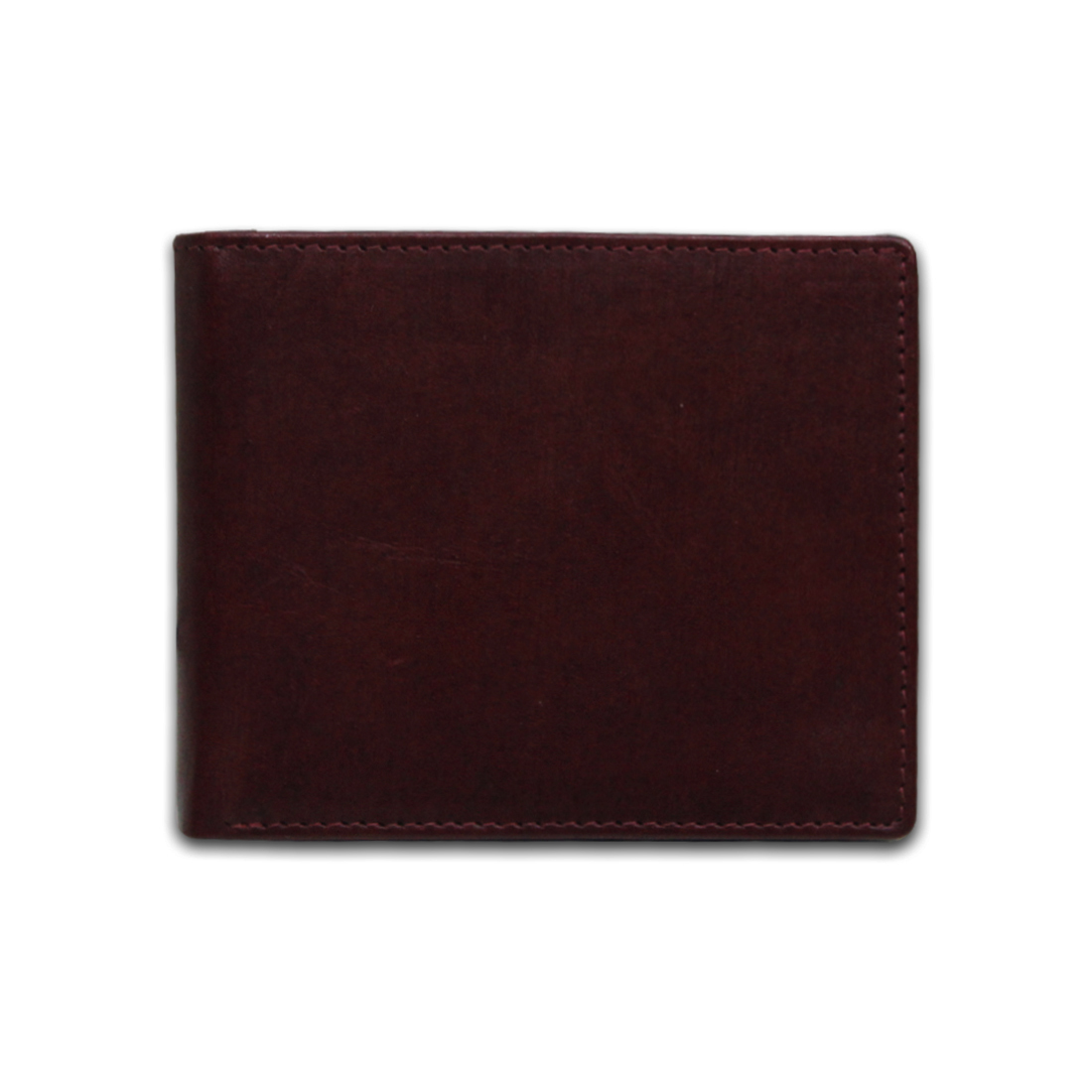 Men Leather Bi-Fold Anti-Theft Wallet