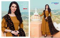 Rayon Stylish kurti With Plazzo