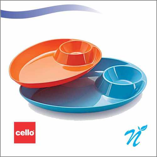 Cello DIP and munch platter small set 2pcs