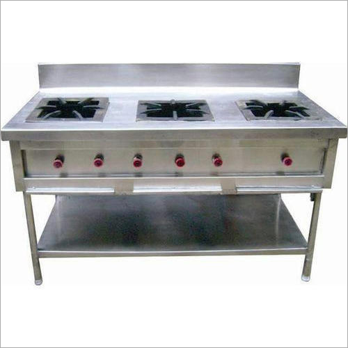 Three Burner Cooking Range