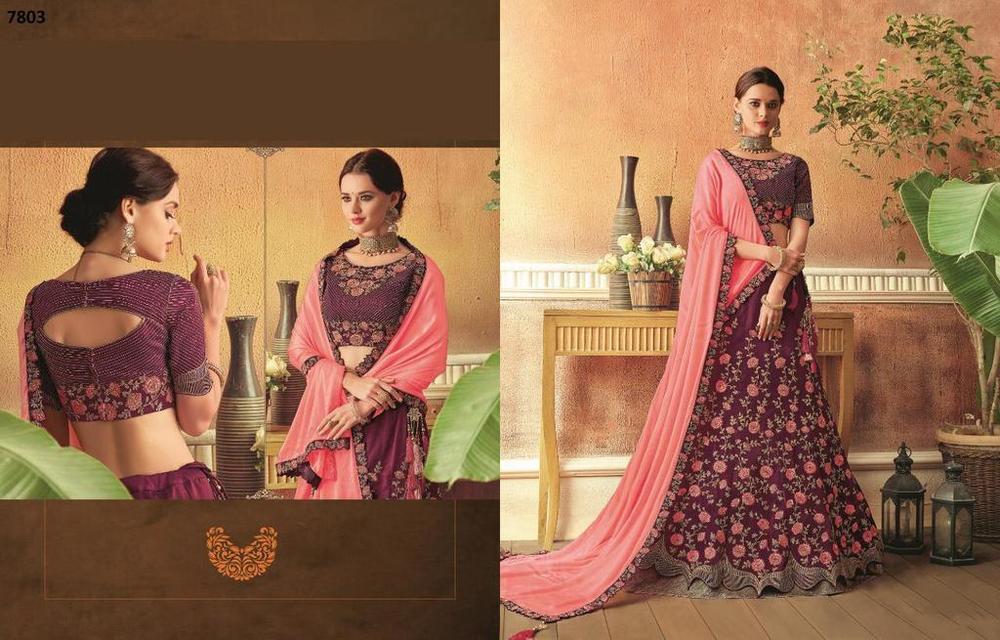 New Latest Heavy Designer Lehenga Choli