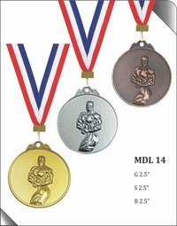 BODY BUILDER MEDAL
