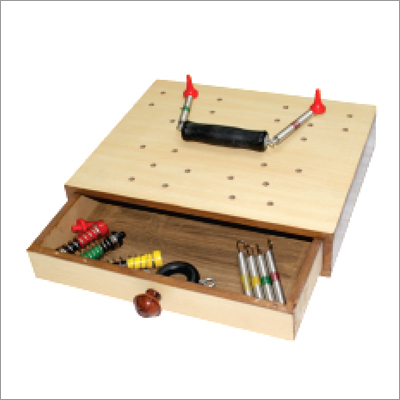 Physiotherapy Hand GYM Kit Board