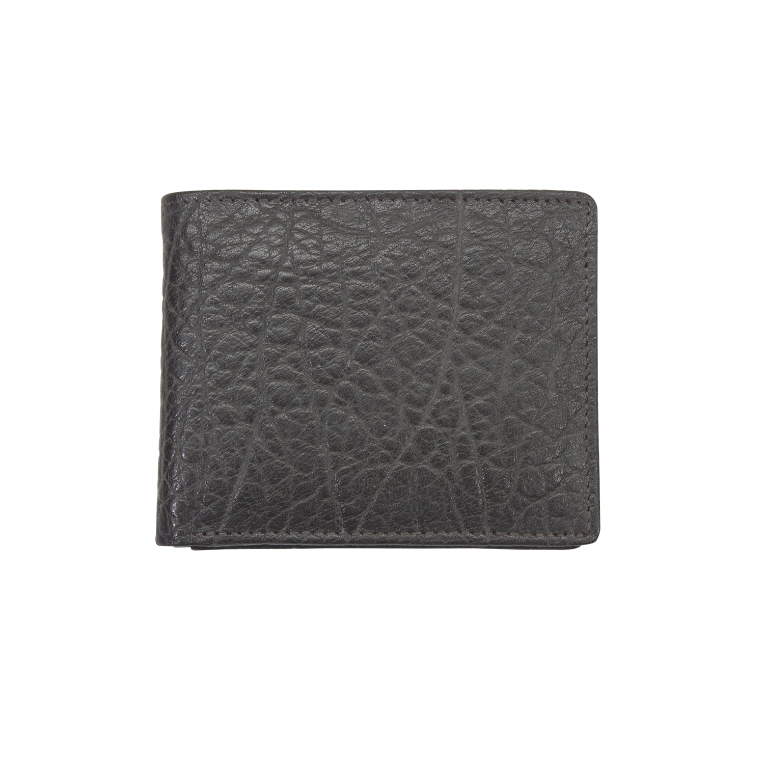 Men Genuine Leather RFID Slim Wallet