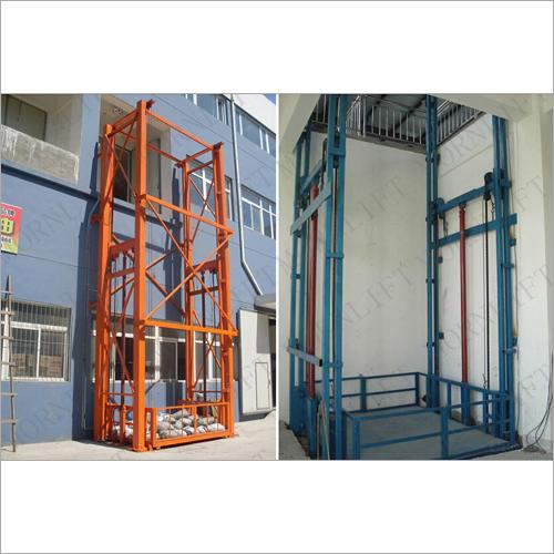 Double Mast Hydraulic Lift