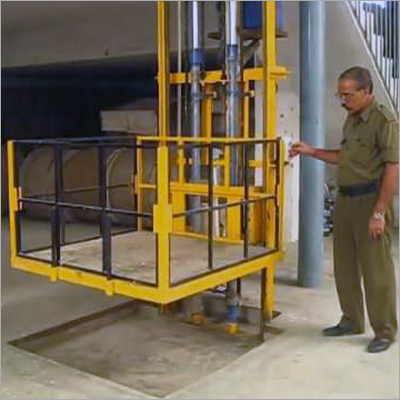 Single Mast Hydraulic Lift