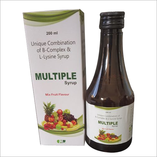 B COMPLEX , MULTIVITAMIN SYRUP