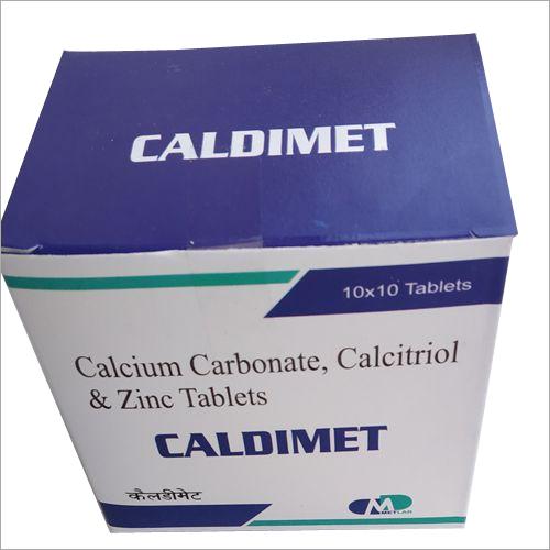 CALCIUM CARBONATE, ZINC