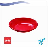 Cello Snack on Plate small -set of 6pcs