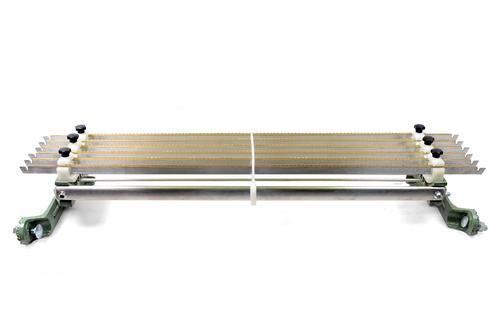 Electrical Warp Stop Motion Aluminium  Zinc Serrated Bar