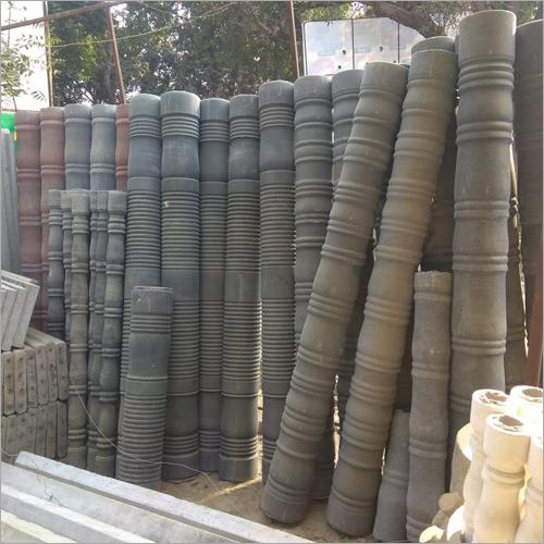 Designer Cement Pillar