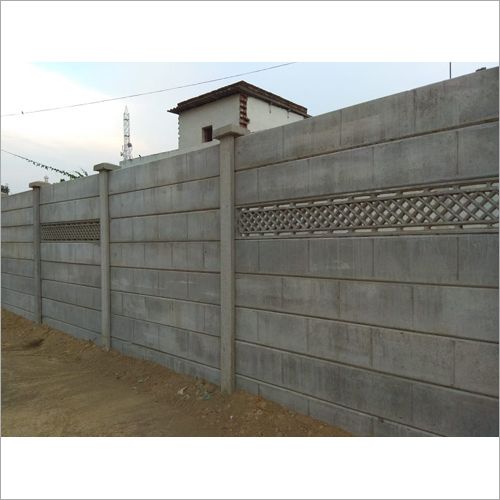 Security Concrete Compound Wall