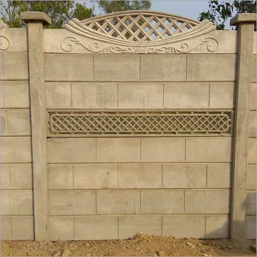 Outdoor Designer Concrete Compound Wall