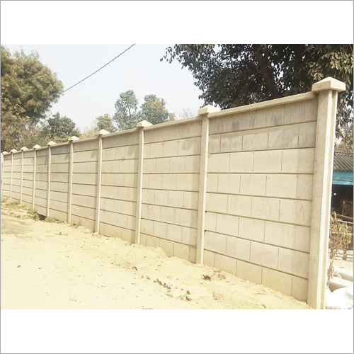 Boundary Concrete Compound Wall