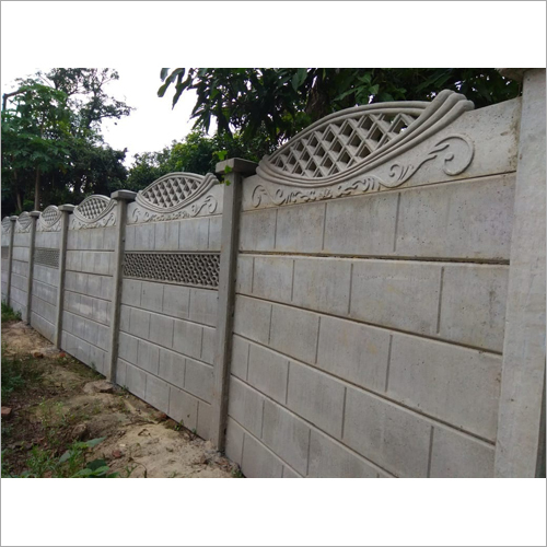 Concrete Readymade Compound Wall