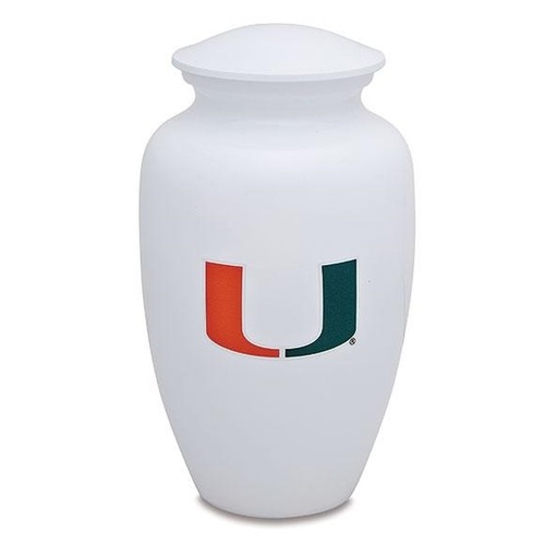 University of Miami Football Classic Urn