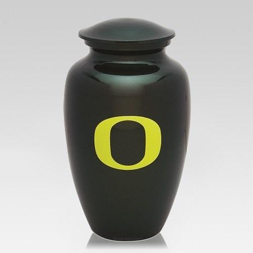 Oregon Ducks Football Cremation Urn