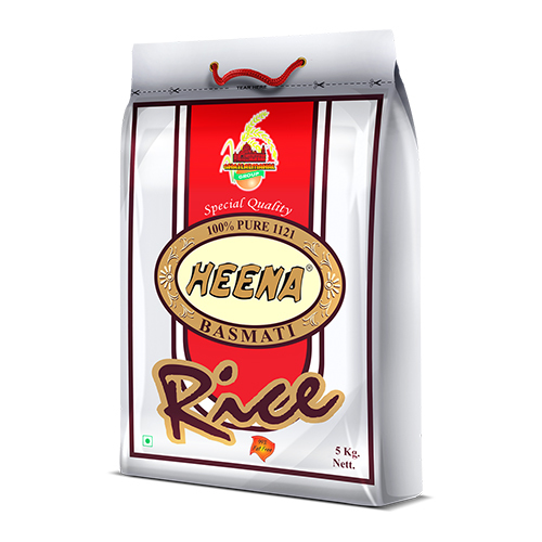 5kg HEENA Basmati Rice