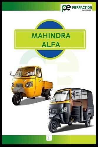 mahindra alfa auto riksha body part
