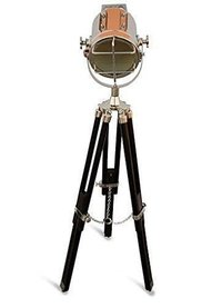 Spotlight Marine Wooden Tripod Floor Light
