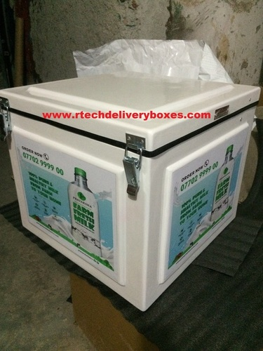 Milk Bottle Delivery boxes