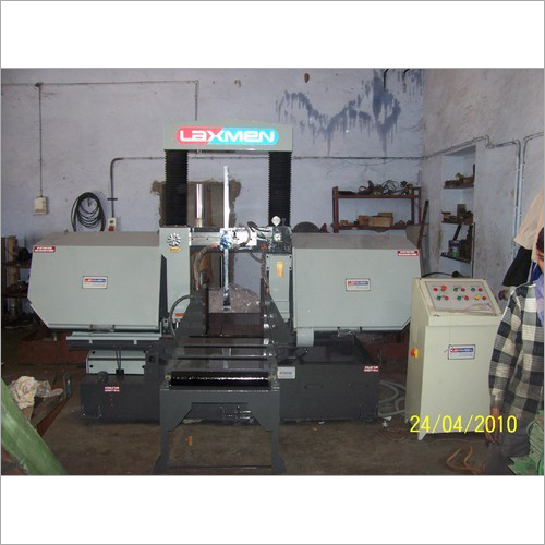 Double Column Metal Cutting Bandsaw Machine