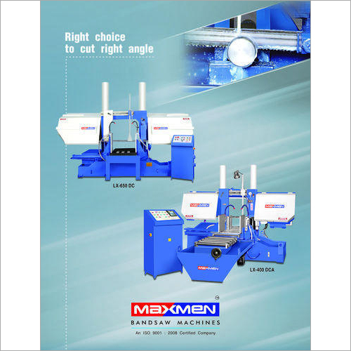 Semi Automatic Metal Cutting Bandsaw Machine