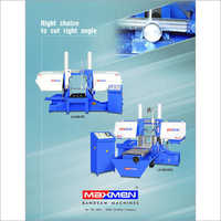 Semi Automatic Pivot Type Band Saw Machine