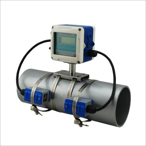 Clamp On Fixed Ultrasonic Flow Meter