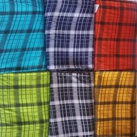 RAYON 120 GSM CHECKS FABRIC