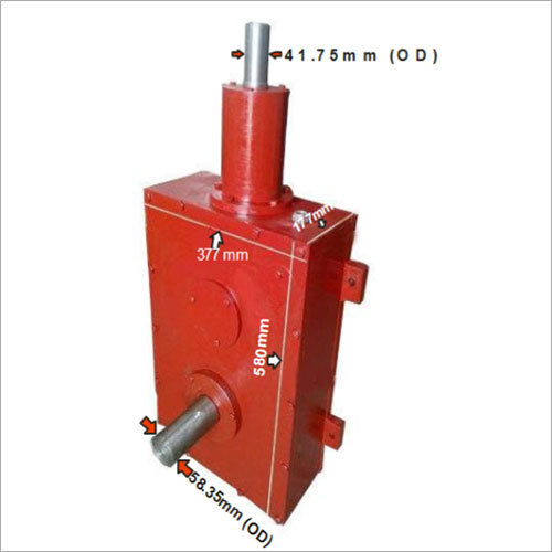 Pan Mixer Gear Box