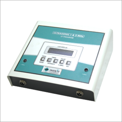 Physiotherapy US LCD 27 Prog 1 & 2 MHz