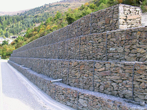 wall protection gabion box