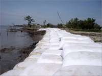 Geobags for Flood Control