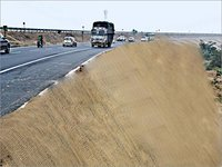 Jute Geotextile for Highways