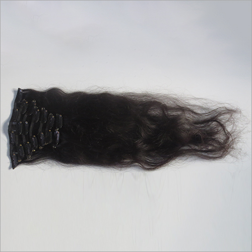 Clip Virgin Weft Hair Extension