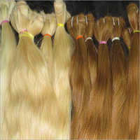 Blonde Weaving Indian Human Hair Extension