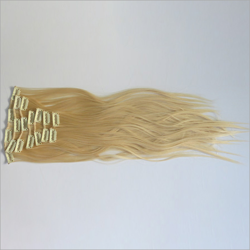 Clip Blonde Hair Extensions