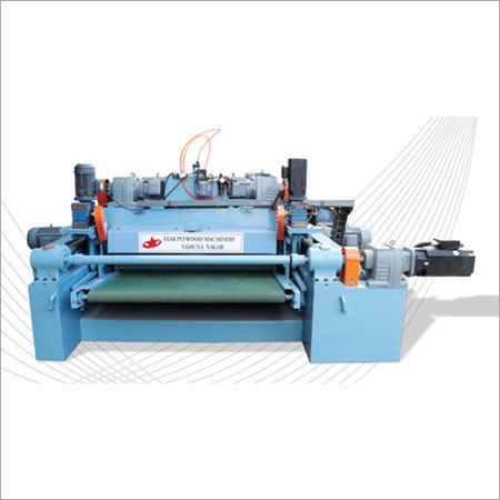 4 Feet 90 M Min Highspeed Veneer Peelidng Machine