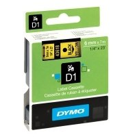 Dymo Original Black on Yellow Tape(S0720790/46318)