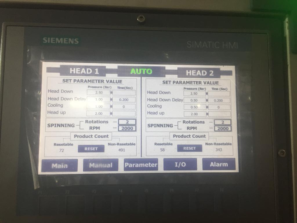 Spin Welding Machine Automation
