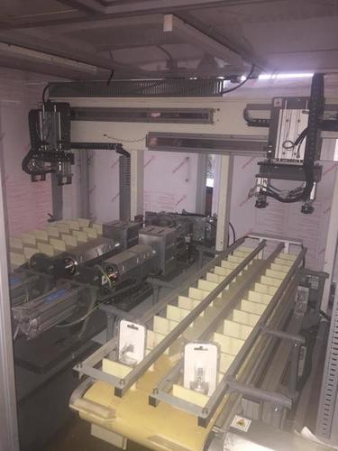 Blister welding machine automation