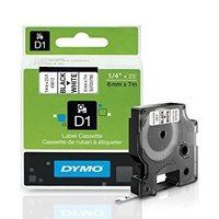 Dymo Original Black on White Tape (S0720780/43613)