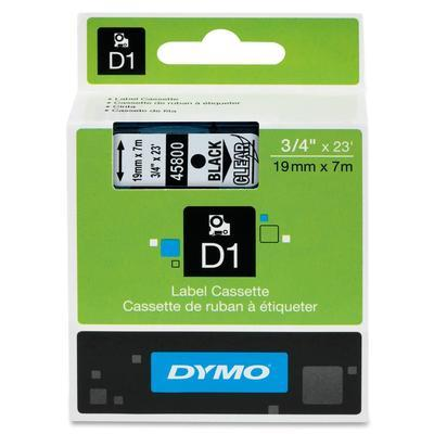 Dymo Original Black on Clear Tape (S0720820/45800)