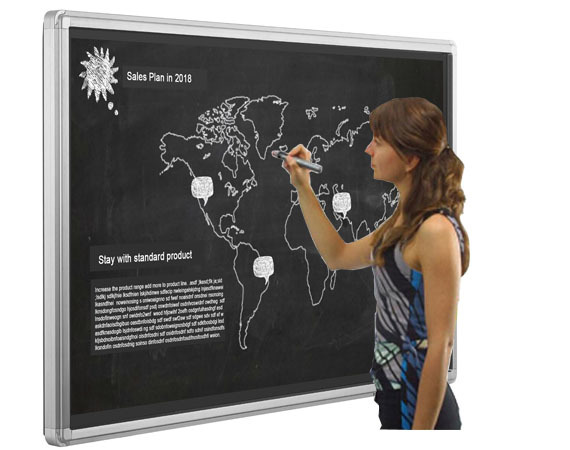 IR Touch Smart Board Display
